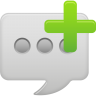 Message-bubble-new icon