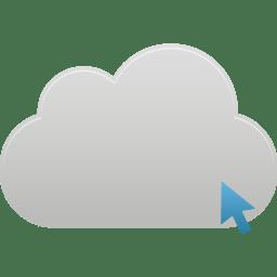 Cloud Click icon