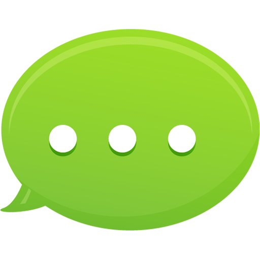 Bubble Text Message Icon | Pretty Office 13 Iconset ... Text Icon Png