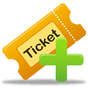 create ticket icon