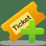 Create-ticket icon