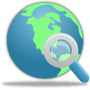 Search Globe icon