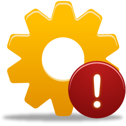 Process Warning icon