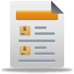 product sales report icon