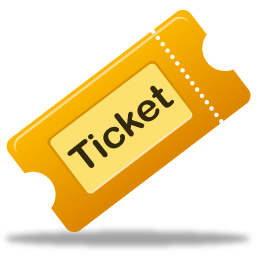 Ticket Icon Pretty Office 3 Iconset Custom Design