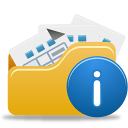 Open Folder Info icon