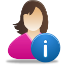 Female-user-info icon