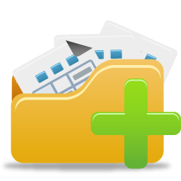 Open Folder Add Icon | Pretty Office 4 Iconset | Custom ...