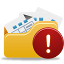 Open-Folder-Warning icon