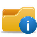 Folder Info icon