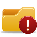Folder-Warning icon