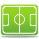 Sport football pitch icon