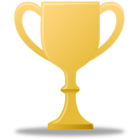 Trophy-gold icon