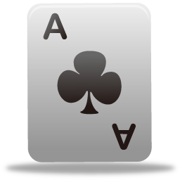 Game playingcard icon