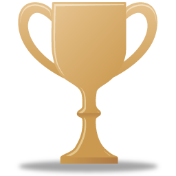 Trophy bronze icon