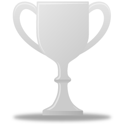 Trophy silver icon