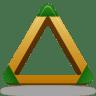 Sport-triangle icon