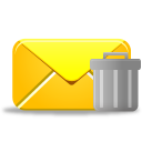 Email-trash icon