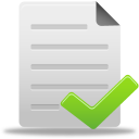 File-complete icon