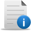 file info icon
