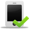 Iphone-validated icon