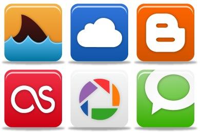 Pretty Social Media Icons