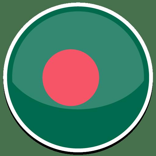 Bangladesh Icon Round World Flags Iconset Custom Icon