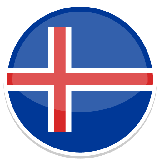Image result for iceland flag circle flat