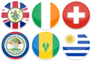Round World Flags Icons