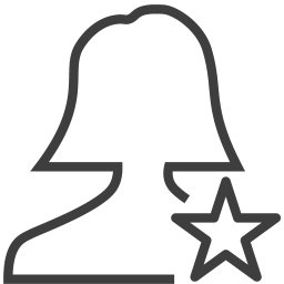 User woman collection icon