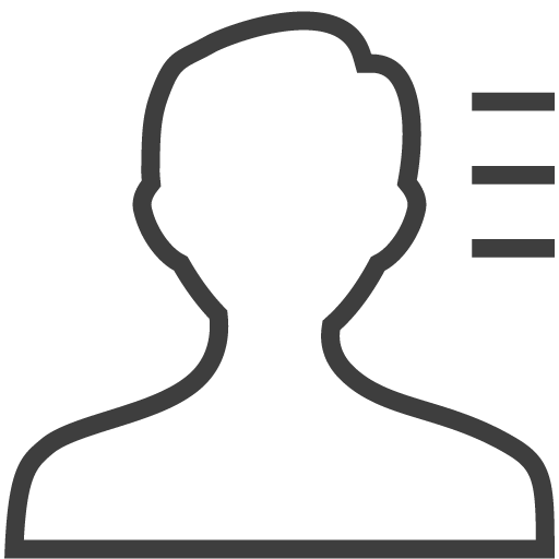 User man info 2 icon
