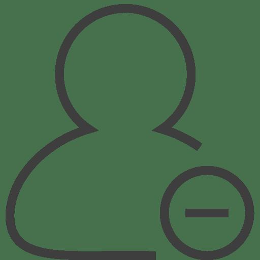 User2-remove icon