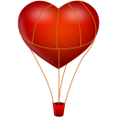 Fire-ballon icon