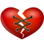 Stitch heart icon