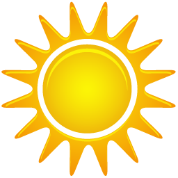 Sunny Icon | Weather Iconset | Custom Icon Design