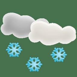 Snow Icon | Weather Iconset | Custom Icon Design