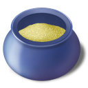 Sugar-bowl-filled icon