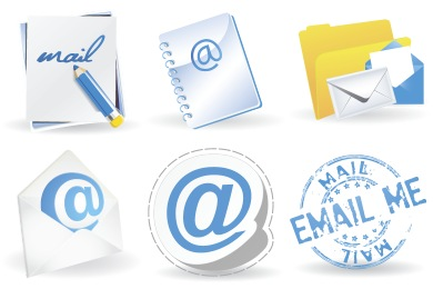Contemporary Mail Icons