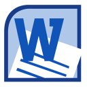 Microsoft Word 2010 icon