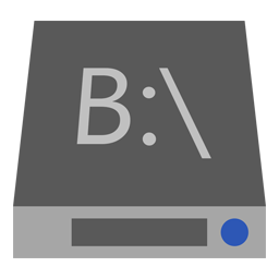 Drive B icon
