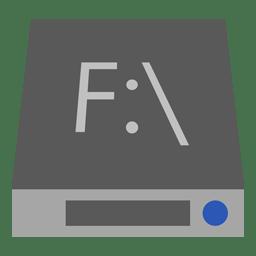 Drive F icon