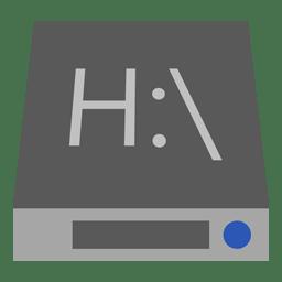 Drive H icon