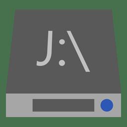 Drive J icon