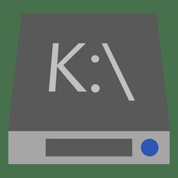 Drive K icon