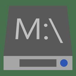 Drive M icon