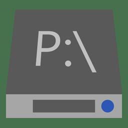 Drive P icon