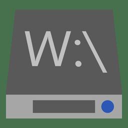 Drive W icon