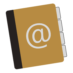 Mac Address Book icon