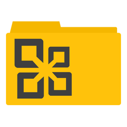 Microsoft Office 2010 Folder icon