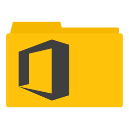 Microsoft Office 2013 Folder icon